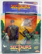 Sectaurs Warriors of Symbion - Coleco Rainbow Toys - Commander Waspax & Wingid