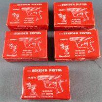 Sekidern Japon 5 Boites Rouges de 50 Plombs M68 pour Pistolet