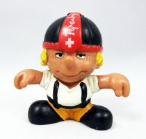 Seppli the Swiss Boy - Schleich PVC Figure - Seppli with open arms