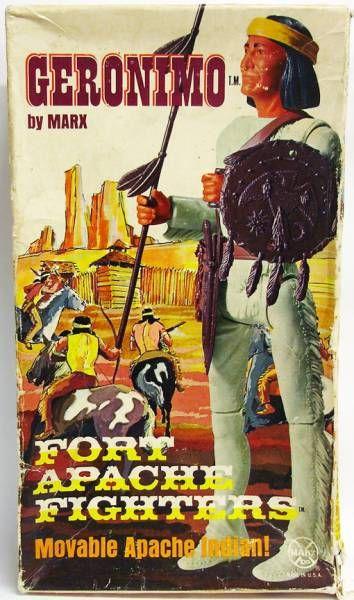 Série Western - Marx Toys - Geronimo (occasion en boite)