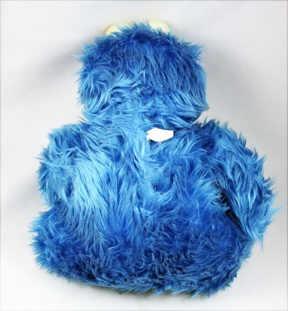 Sesame Street - Lang-Alco-Ceji - Peluche 30cm - Macaron (Cookie Monster)