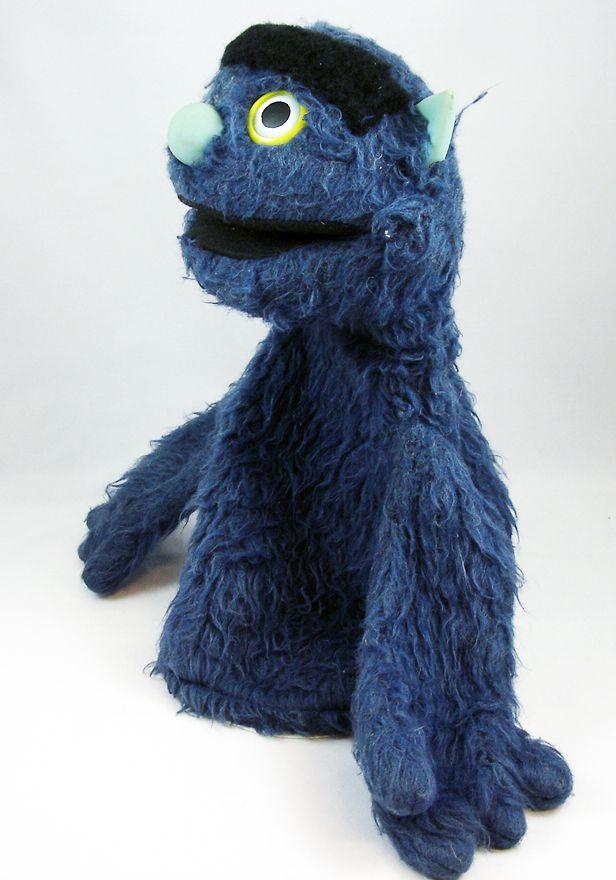 Sesame Street - Vicma - Marionette à main Mordicus 35cm (loose)