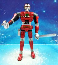 Sharivan (X-Or Puissance Rouge) - Figurine articulée métal - Popy Bandai (loose)