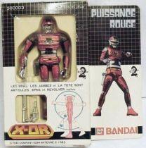 Sharivan die-cast action figure - Popy Bandai France