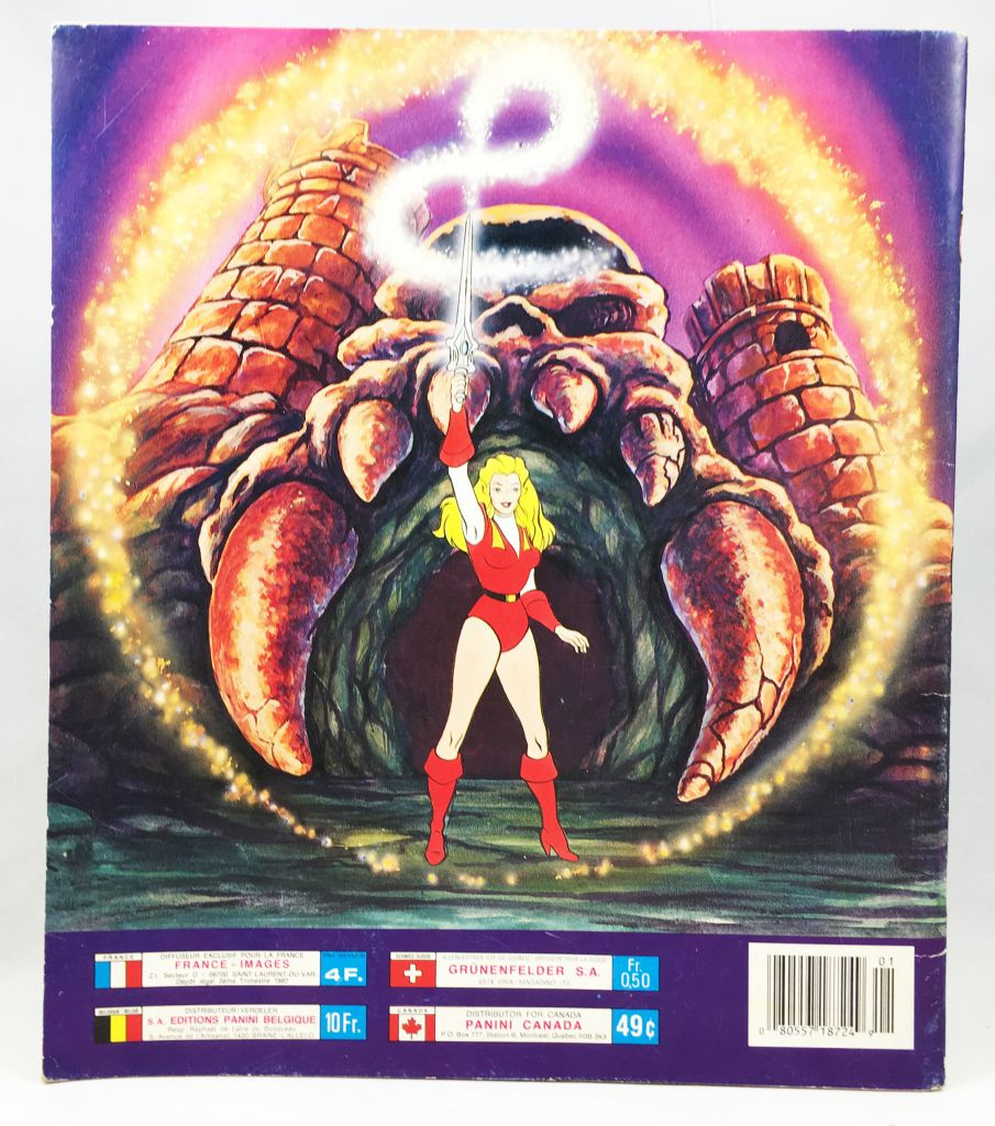 She-Ra Princess of Power - Panini Stickers collector book