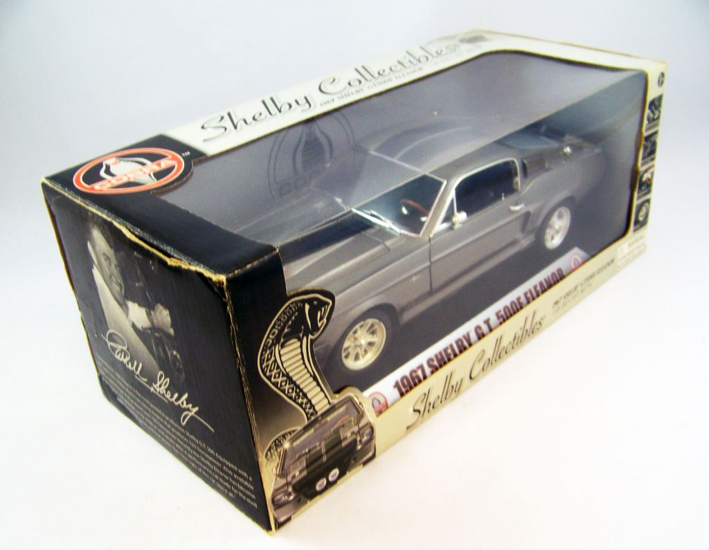 Shelby Collectibles 1967 Shelby GT500E Eleanor 1/18ème (Diecast Metal)