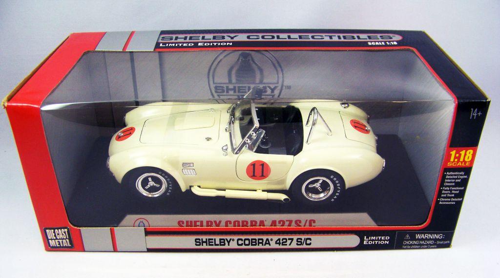 Shelby Collectibles Cobra 427 S/C 1/18ème (Diecast Metal)