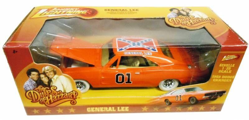 Sheriff fais-moi peur ! - Johnny Lightning - 1969 Dodge Charger General Lee 1:25ème diecast