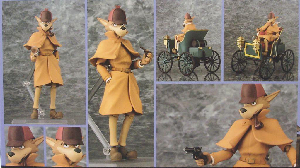 Sherlock Holmes - Figma action-figure - Sherlock with car - Max Factory