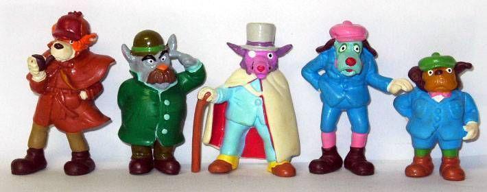 Sherlock Holmes Schleich set of five figures