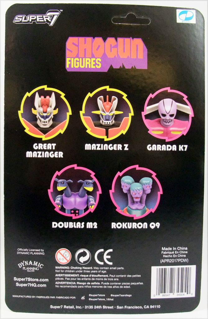 Shogun Warriors - Super7 ReAction Figure - Garada K7