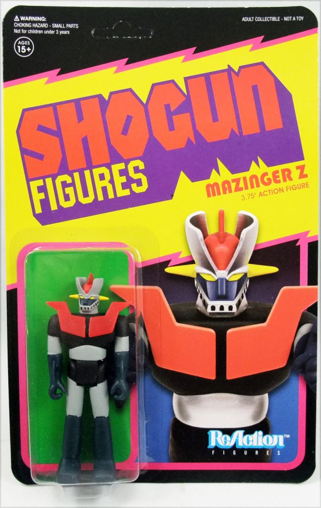 Shogun Warriors - Super7 ReAction Figure - Mazinger Z