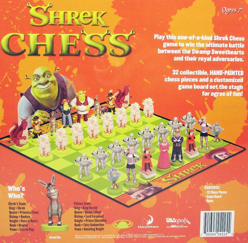 Shrek - Jeu d\'Echecs - USAopoly (1)