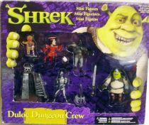 Shrek - Mini Figures set \'\'Duloc Dungeon Crew\'\' - McFarlane Toys 2001