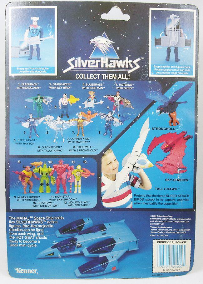 Silverhawks - Bluegrass & Hotlicks (carte bleue)