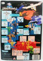 Silverhawks - Buzzsaw & Shredator (carte noire)