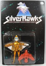 Silverhawks - Kenner - Copper Kidd & May-Day (Black card)