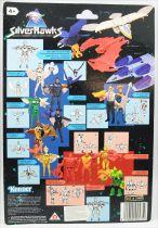 Silverhawks - Kenner - Copper Kidd & May-Day (carte noire)