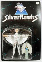 Silverhawks - Kenner - Quicksilver & Tally-Hawk (Black card)
