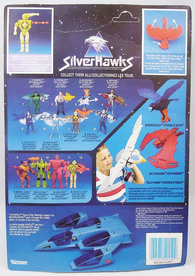 Silverhawks - Mo-lec-u-lar & Volt-ure (Blue card)