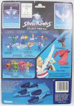 Silverhawks - Quicksilver & Tally-Hawk (Blue card)