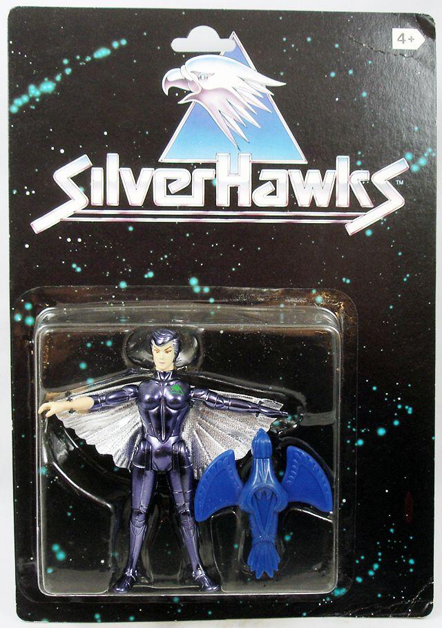 Silverhawks - Steelheart & Rayzor (Black card)