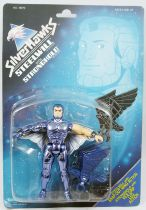 Silverhawks - Steelwill & Stronghold (Blue card)