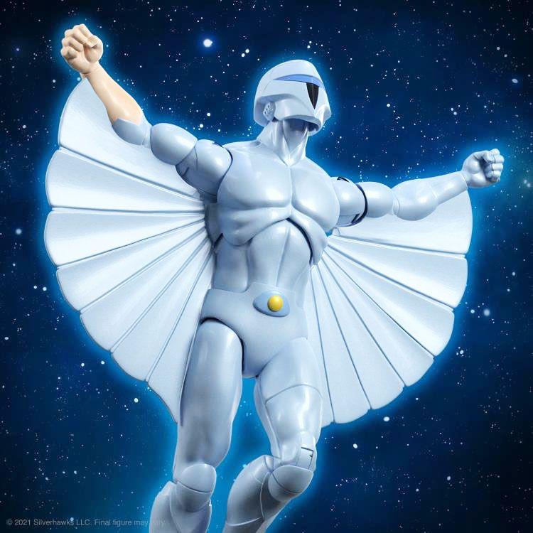 Silverhawks - Super7 Ultimates Figures - Quicksilver & Tally-Hawk