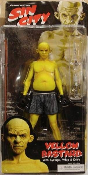 Sin City - Yellow Bastard (angry)