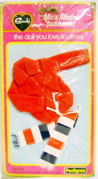 Sindy - Mix n\'Match fashions : Nautical jacket & scarf ref.44176 - Pedigree