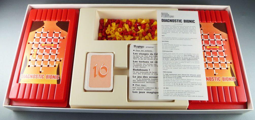 Six Million Dollar Man - Capiepa Board Game - Diagnostic Bionic
