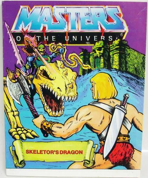 Skeletor\'s Dragon (english-french-german-italian)