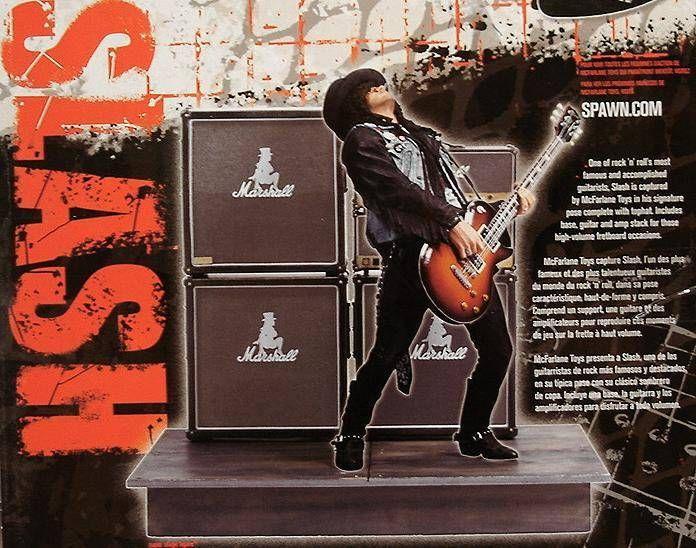 Slash (Deluxe boxed set) - McFarlane figure