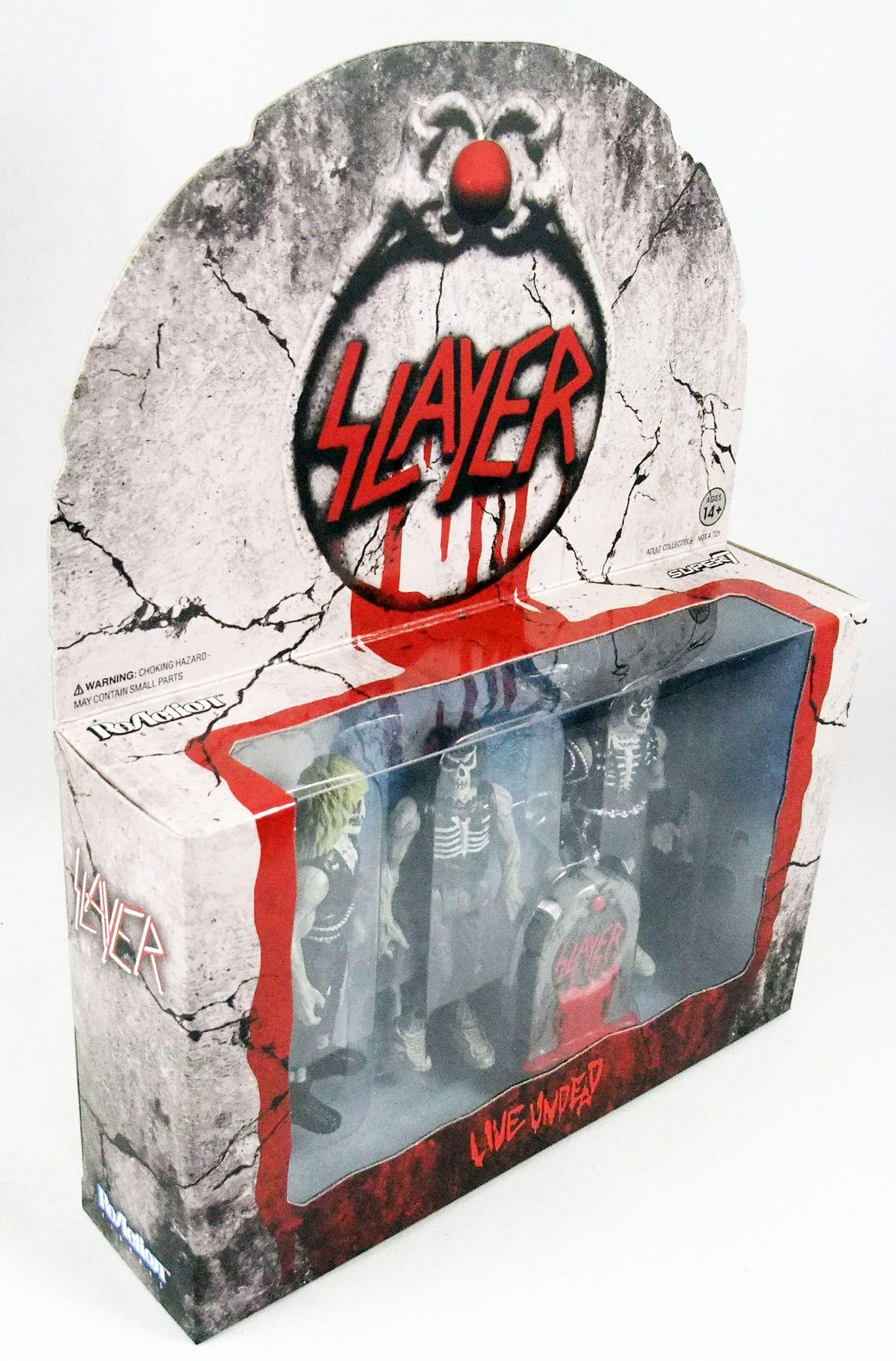 Slayer - Super7 ReAction Figure - Live Undead 3-pack