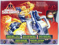 Small Soldiers - Kenner - Moto Power Drill Cycle & Scratch-it