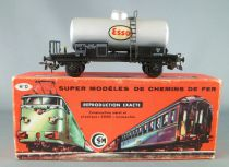 Smcf 111 Ho Sncf Esso Tank Wagon 2 Axles 584590 Pantin Boxed