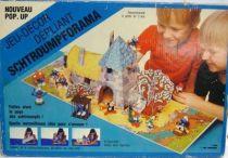 Smurf Pop-up Diorama - Gargamel\'s Castle