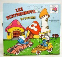 Smurfs - Die-Cast vehicule Esci - Gargamel convertible car (Mint in Box)