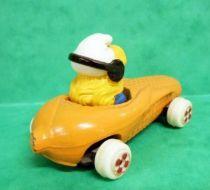 Smurfs - Die-Cast vehicule Esci - Smurfette yellow corn car (Loose)