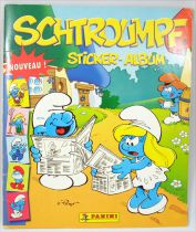 Smurfs - Panini Stickers collector book 2006