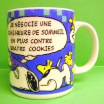 Snoopy  - French ceramic mug - Tropico (Mint)