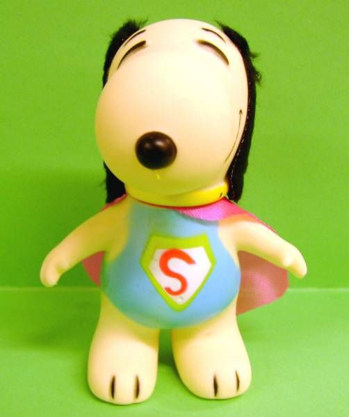 Snoopy - 6inches Vinyl Figure - Superman Snoopy