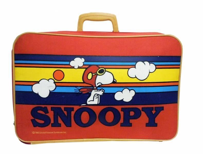 Snoopy - Aviva - Valise pour Enfant  Snoopy