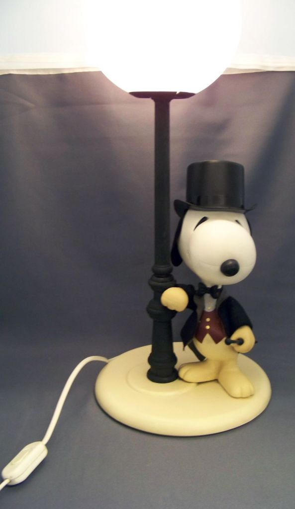 Snoopy - Lampe de Chevet - Snoopy Gentleman 04