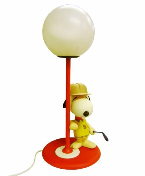 Snoopy - Bedside Lamp - Golf Player Snoopy