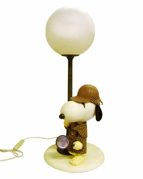 Snoopy - Bedside Lamp - Sherlock Holmes Snoopy