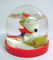 Snoopy - Comic Spain Snow Dome - Snoopy on sleigh