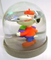 Snoopy - Comic Spain Snow Dome - Snoopy plays accordion