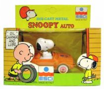 Snoopy - ESCI Die-cast Vehicle - Snoopy Auto
