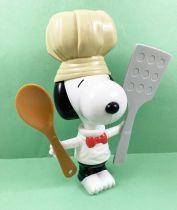 Snoopy - Figurine articulée 20cm Premium McDonald - Snoopy Chef Cuisinier